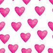 Abstract background hearts love — Vettoriali Stock
