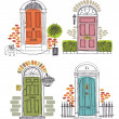 Doors — Stock Vector #25603937