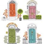 Doors — Stock Vector #25603937