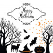 Happy Halloween card — Stock Vector #32466661