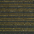 Dark striped fabric with gold lines — Stock Photo