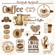 Coffee design elements — Stock Vector #25962203