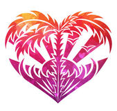 Ornamental heart — Stock Vector