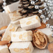 Nougat with almonds — Stock Photo #12745113