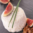 Goat cheese and fig — Stock Photo #12756464