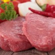 Raw meat and ingredients — Stock Photo #13128748