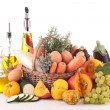 Abundance of vegetable and fruit — Stock Photo