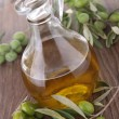 Stock Photo: Carafe with olive oil