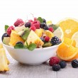 Bowl of fruits salad — Stock Photo #13463101