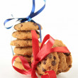 Stock Photo: Cookies isolated