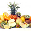 Abundance of fruits - Stock Photo