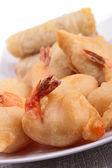 Assortment of asian fritter — Stock Photo