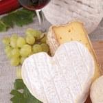 Cheese and wine — Stock Photo #13865416