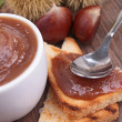 Stock Photo: Chestnut spread
