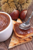 Chestnut spread — Stock Photo