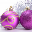 Christmas baubles — Stockfoto #14525867