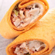 Wraps/fajita — Stock Photo