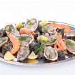 Seafood platter — Stock Photo #14791717
