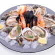 Seafood platter — Stock Photo #14970037