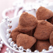Chocolate truffle — Stock Photo