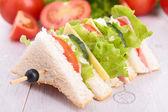 Club sandwich — Stock Photo