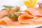Smoked salmon — Photo