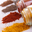 Stock Photo: Assortment of spices