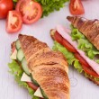 Fresh sandwich — Stock Photo #16421401