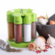 Assortment of spices - Foto Stock