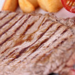 Stock Photo: Grilled beefsteak