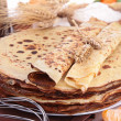 Stock Photo: Crepes and ingredient