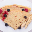 Crepe with berry fruit — Stock Photo #18532919