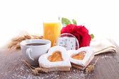 Valentine's day morning — Stock Photo