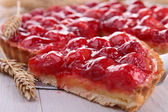 Raspberry tart — Stock Photo