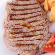 Stock Photo: Grilled beef