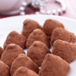 Stock Photo: Chocolate truffle