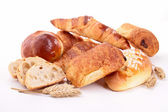 Assortment of bread and pastries — Stock Photo