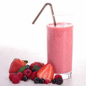 Smoothie de morango — Foto Stock