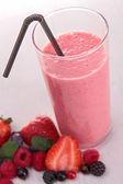 Berries smoothie — Stock Photo