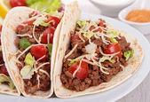 Taco de carne — Foto de Stock