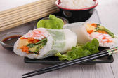 Vietnamese spring roll — Stock Photo