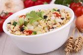 新鲜健康的沙拉 — 图库照片