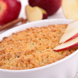 Apple crumble — Stock Photo #20565509