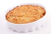 Apple crumble — Stock Photo