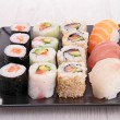 Assortment of sushi — Stock Photo