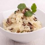 Mushroom risotto — Stock Photo #21086297