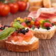 Stock Photo: Bruschetta