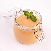 Gourmet apple sauce — Stock Photo