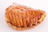 Isolated apple turnover — Stock Photo
