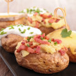Stock Photo: Baked potato